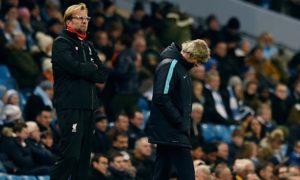 Klopp og Liverpool knuste City på Etihad tidligere denne sesongen med 4-1. (Foto: theguardian)