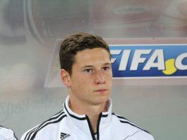 Julian Draxler fra VM-kvalifiseringskampen mot Østerrike i 2012. Foto: Wikimedia Commons